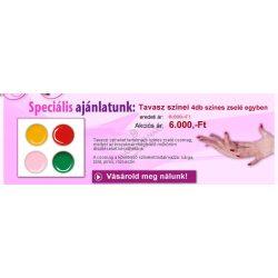 Geluri UV Colorate - Pachet Primavaratic de 4 culori