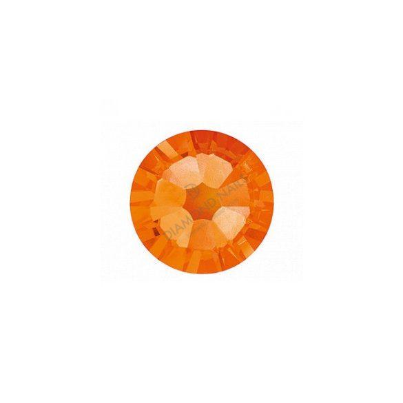 Pietre Swarovski Mari, Oranj, 100 buc.