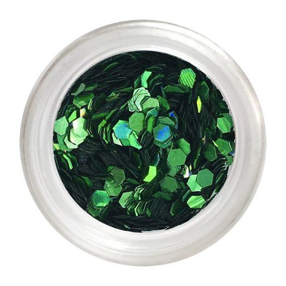 Flitter Nail Art Verde