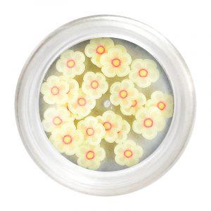 Flori Cauciucate - Alb