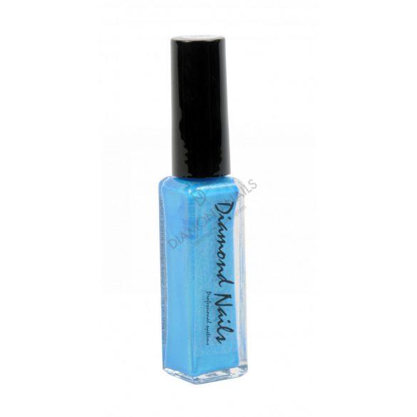 Vopsea acrilica cu pensula Albastr sidefat - DN033