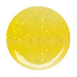 Gel UV Colorat - Galben Lamaie cu Sclipici - 5 grame. #150