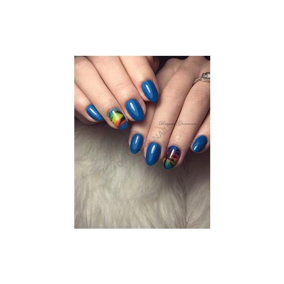 Gel Lac pt. Unghii False - Albastru Inchis- DN038 - Albastru de cian