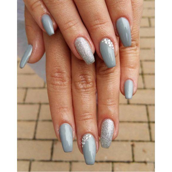 Gel lac - DN057 - Argintiu sidefat