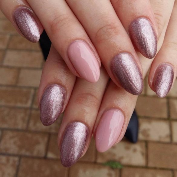Gel lac - DN072 - Violet de liliac metal