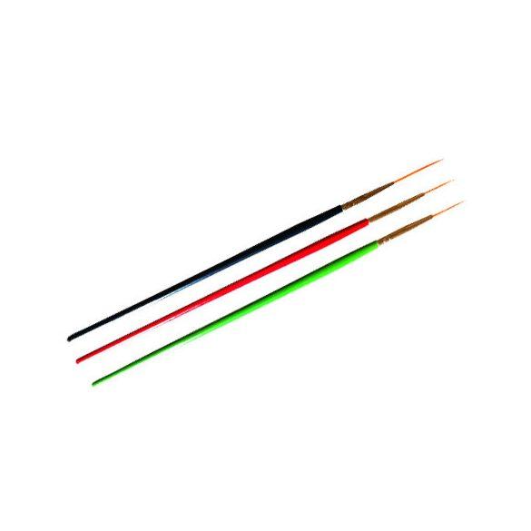 Set pensula Nail Art -3 buc-Colorate