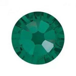 Pietre Swarovski Verde inchis -Mari-50 buc