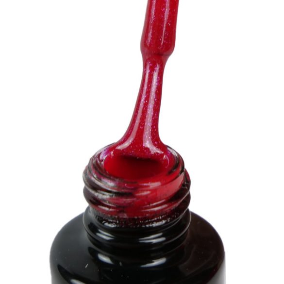 Gel Lac -DN135 - Pink cu vibrații roșii