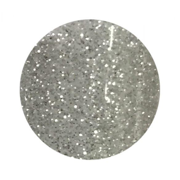 Gel color argintiu cu sclipici 137