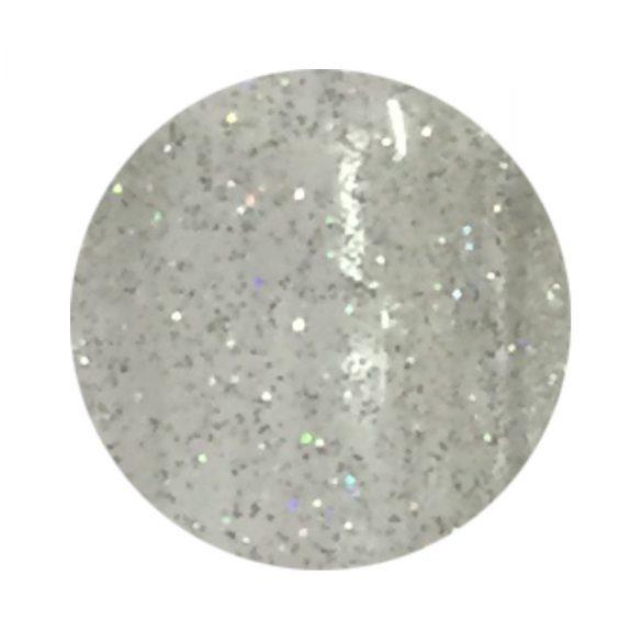 Gel color argintiu cu sclipci aurora borealis 161