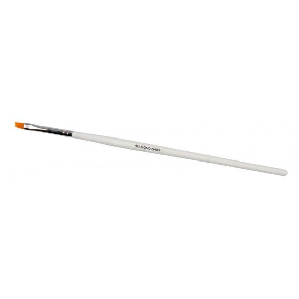 Pensulă Gel Diagonală cu măner transparent #6