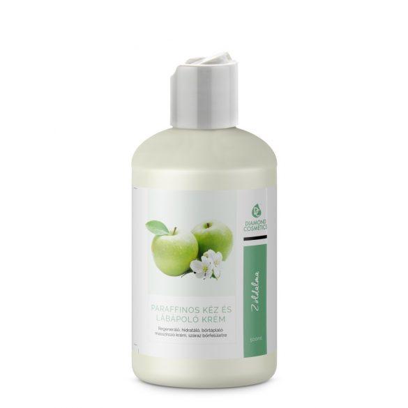 Cremă pentru măini și picioare cu parafină-Mere Verde -500 ml