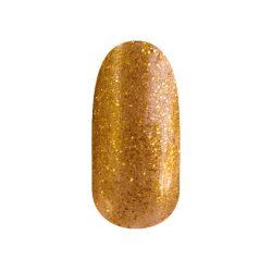 Gel lac - DN118 - Okker auriu cu sclipici