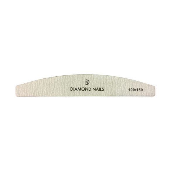 Pila Unghii Bumerang Gri 100/150