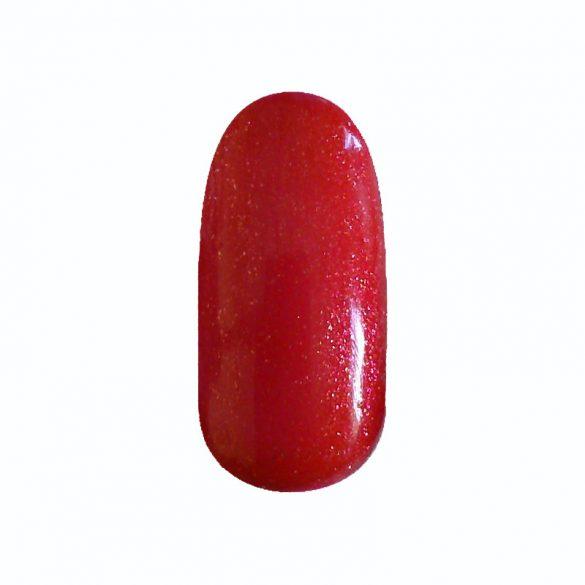 Gel Lac - 4 ml DN136 - Roșu de Crăciun cu sclipici fine