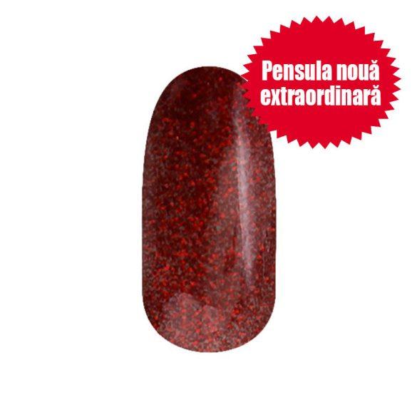 Gel Lac - 4 ml DN104 - Roșu de Crăciun cu sclipici