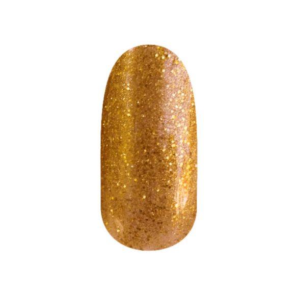 Gel Lac - 4 ml DN118 - Okker auriu cu sclipici