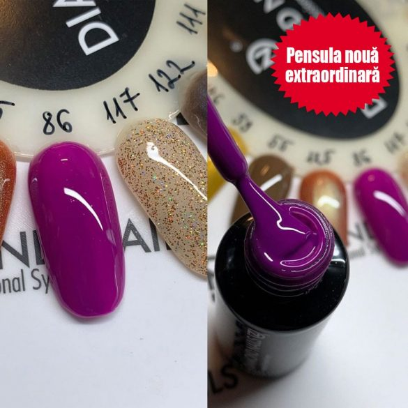 Gel Lac 4 ml DN086 - Violet de veronica