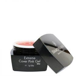 Extrem Cover Pink Gel cu Glitter 5 g