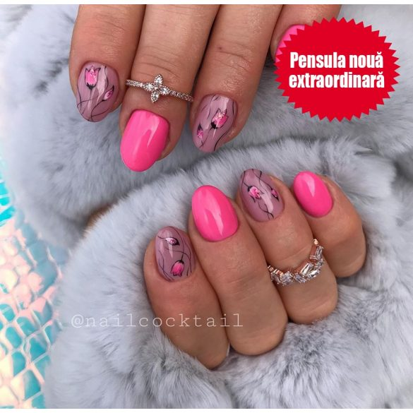 Gel Lac 4 ml - DN048 - Roz neon
