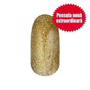 Gel Lac - 4 ml DN101 - Auriu cu sclipici