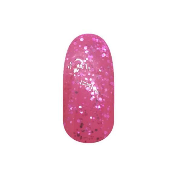 Gel Lac - DN225 - Roz cu sclipici mari
