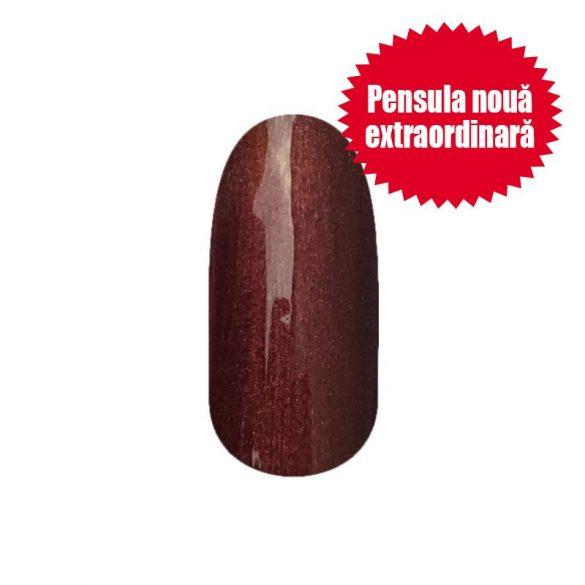 Gel lac - DN206-NOU-Brun ciocolatiu sidefat - 4 ml