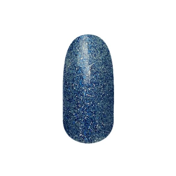 Gel lac - DN207-NOU-Denim cu sclipici - 4ml