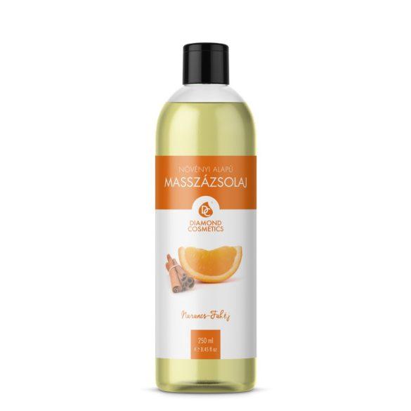 Ulei de masaj scorțișoară-portocală 250 ml