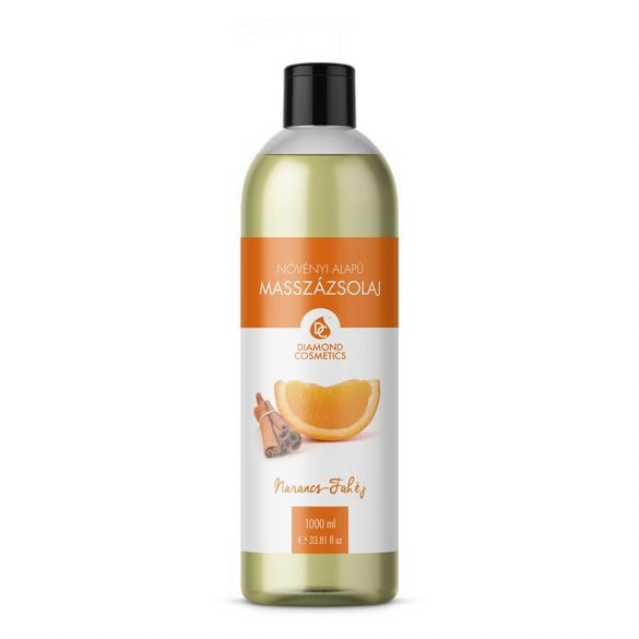Ulei de masaj scorțișoară-portocală 1 liter