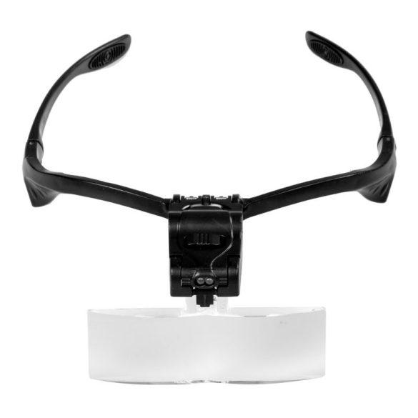 Ochelari cu lupă cu lumină LED, 5 buc lentile