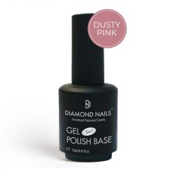 Gel Lac Rubber Base - Dusty Pink 15ml