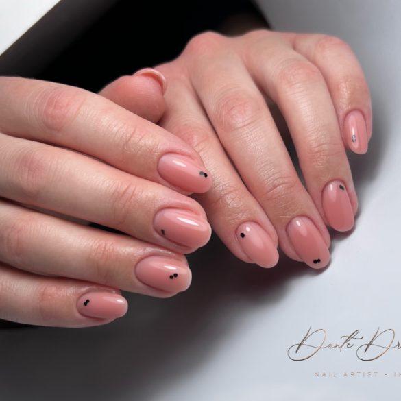 Gel Lac Rubber Base - Dusty Pink 15ml