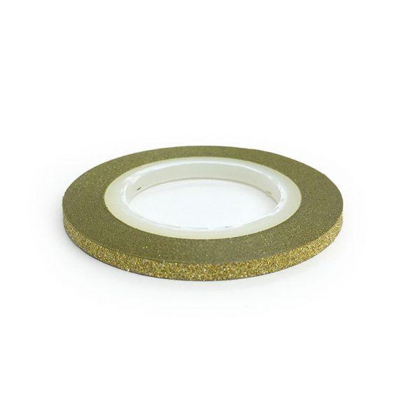 Bandă ornamentare  -auriu mat 3mm