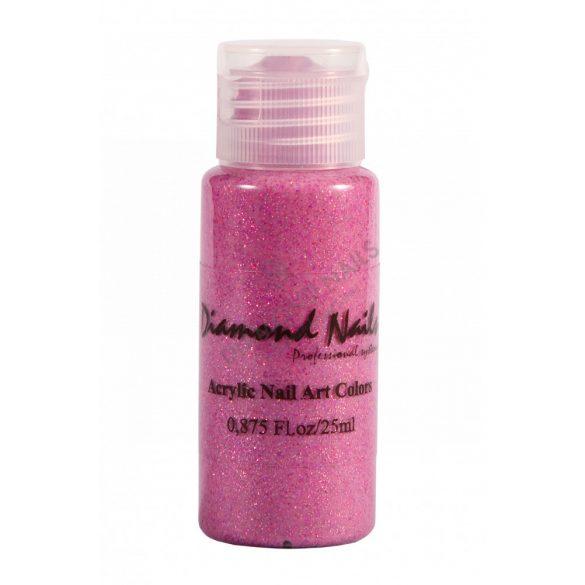 Vopsea Acrilica Roz Inchis Glitter - DN052