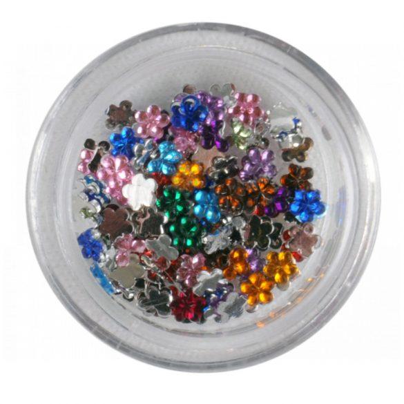 Pitricele in Forma de Floare-Colorate-Aprox 50 buc
