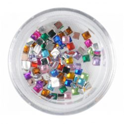 Pitricele in Forma de Patrat-Colorate-Aprox 50 buc