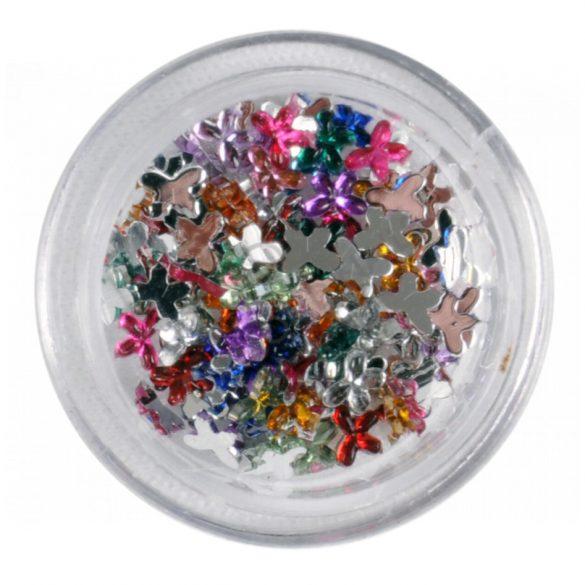 Pietricele in forma de fluture 100buc-amestecate