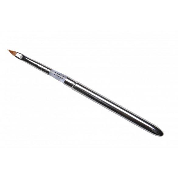 Pensula Acryl Profesionala din metal #2-Albasrtru