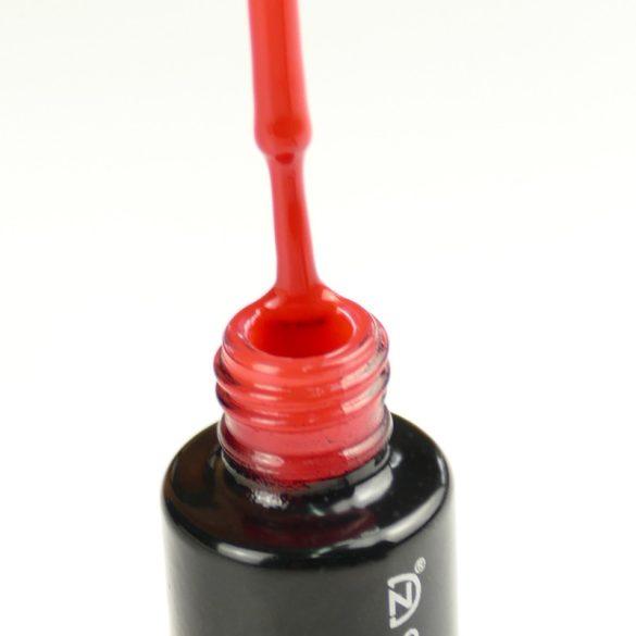 Gel lac DN006 Rosu pentru Unghii False - Roșu de tomată
