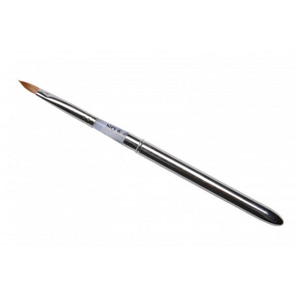 Pensula Acryl Profesionala din metal #6