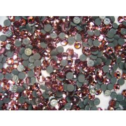 Pietre Swarovski Metalice, Roz, 20buc