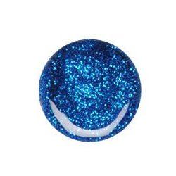 Geluri UV Colorate - Albastru cu sclipici - 5 grame. #074