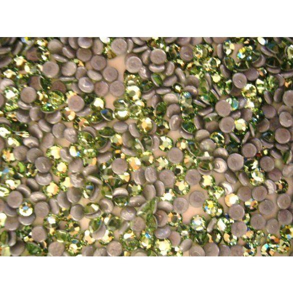 Pietre Swarovski Metalice, Verde, 50buc